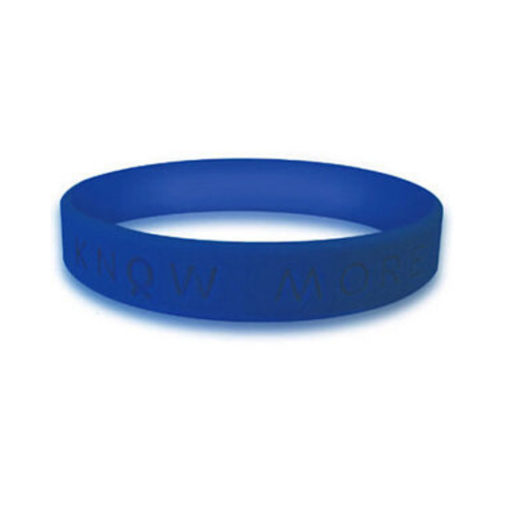 Blue Wristbands Personalized Cause