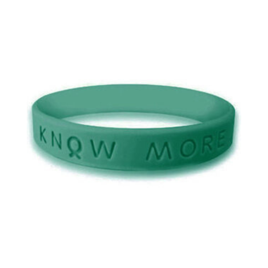 green awareness wristband