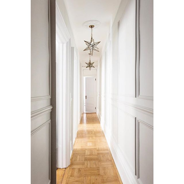 New architectural details turn this once long and narrow hallway into a space worth savoring, as seen in our #uppereastside97project | @rikkisnyder