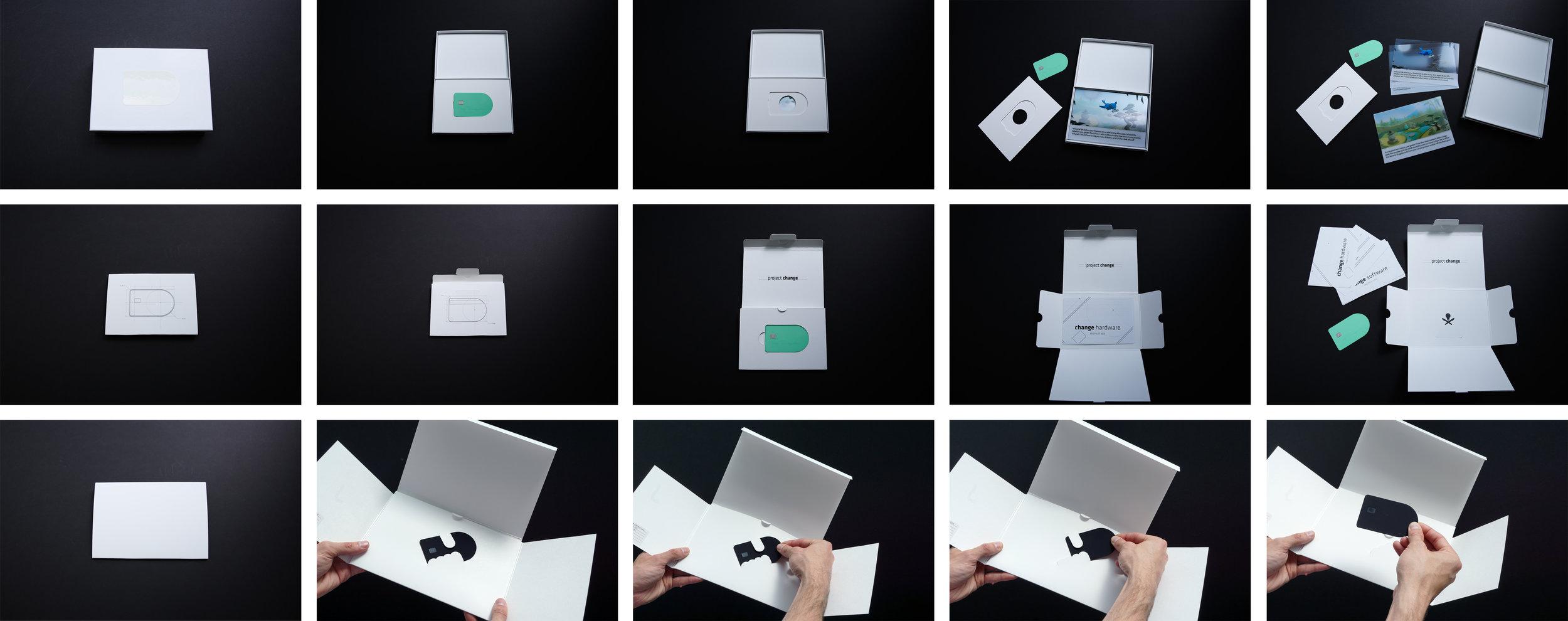 Packaging prototypes
