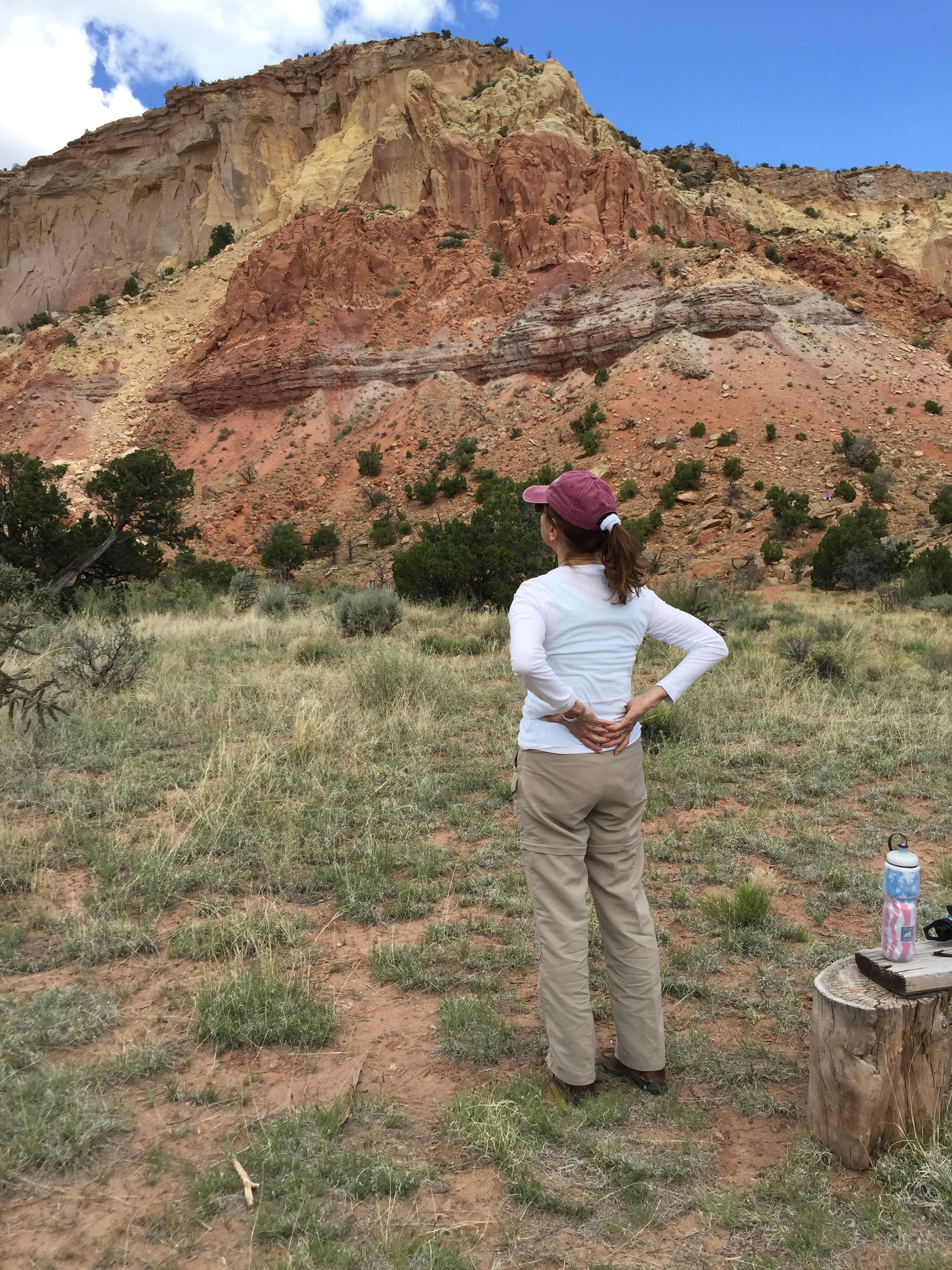 Roz K, A Way In Omer Retreat, Ghost Ranch, NM.JPG