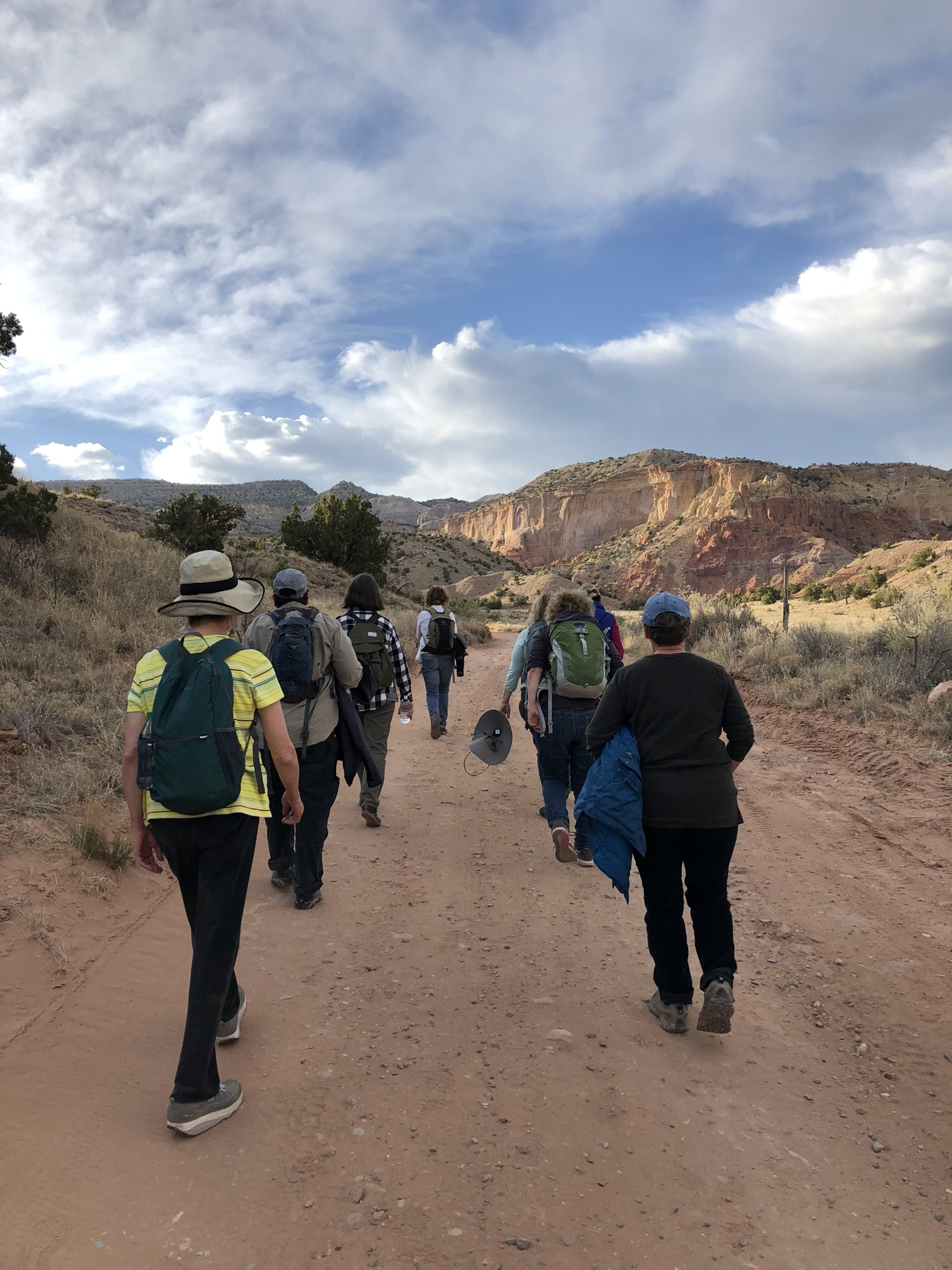 Hike, A Way In Omer Retreat, Ghost Ranch, NM.JPG