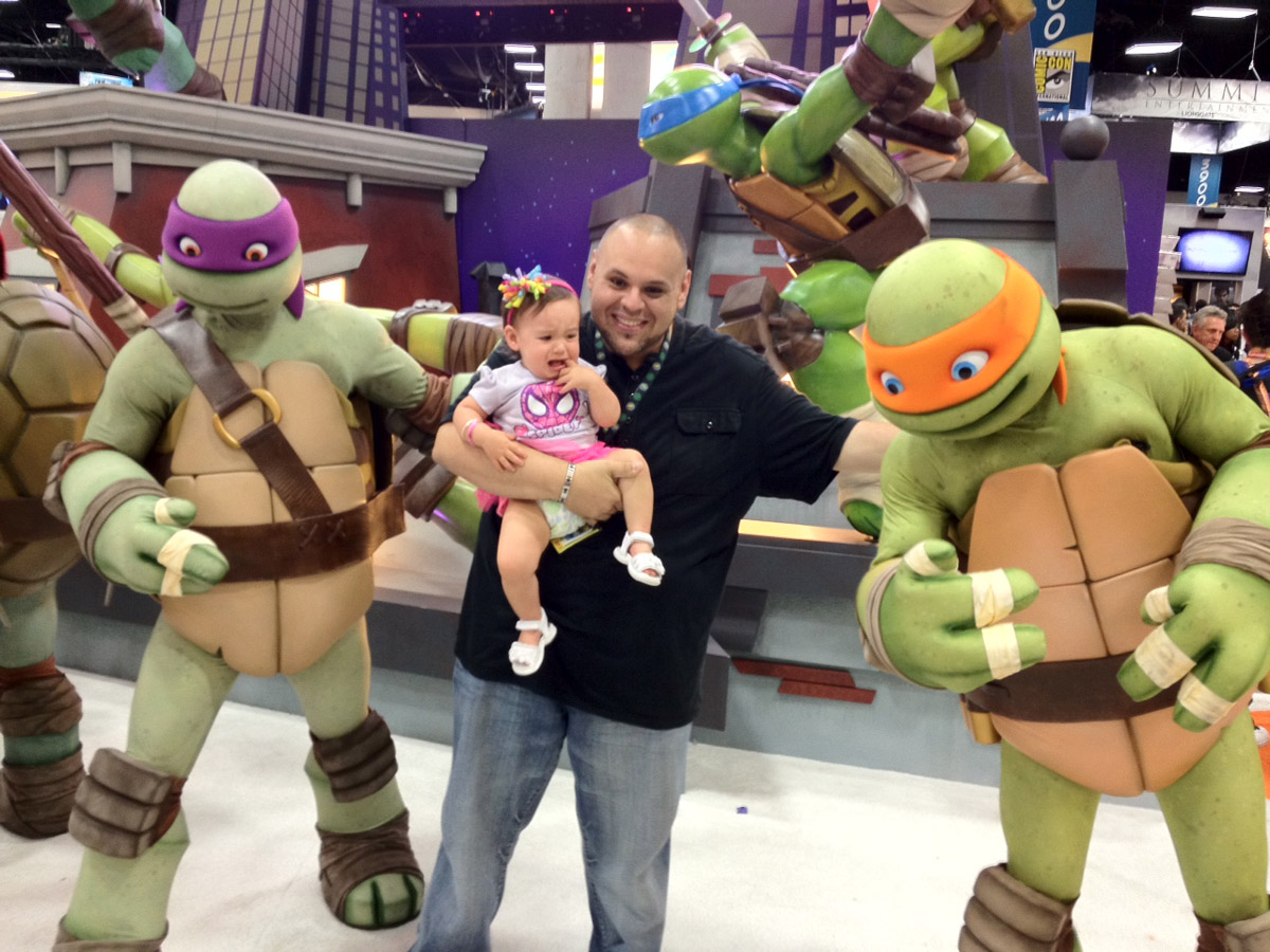 The new TMNT costumed characters look so good.