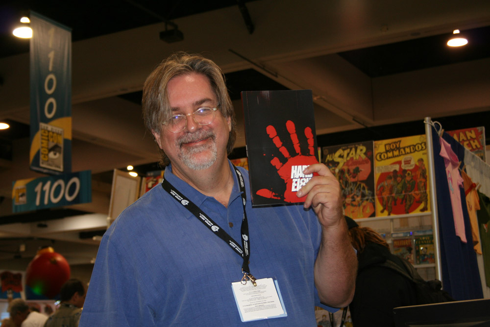 One cool customer, and one great Comic-Con memory