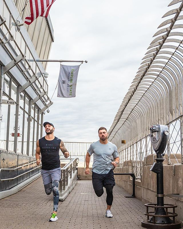 That's right! We rented out the Empire State Building for my @hpltraining retreat May 17-19 with @davidgoggins , so I'm going to do a little sneak peek workout May 6th at sunrise! Who's in? Tag 5 friends in order to win :) we will be Selecting winners by 4/26.  See @empirestatebldg for official rules & details  #mazza #bmazzfit #esb #hplt #fitnessmotivation #fit #motivation #training #nycevents #cardio