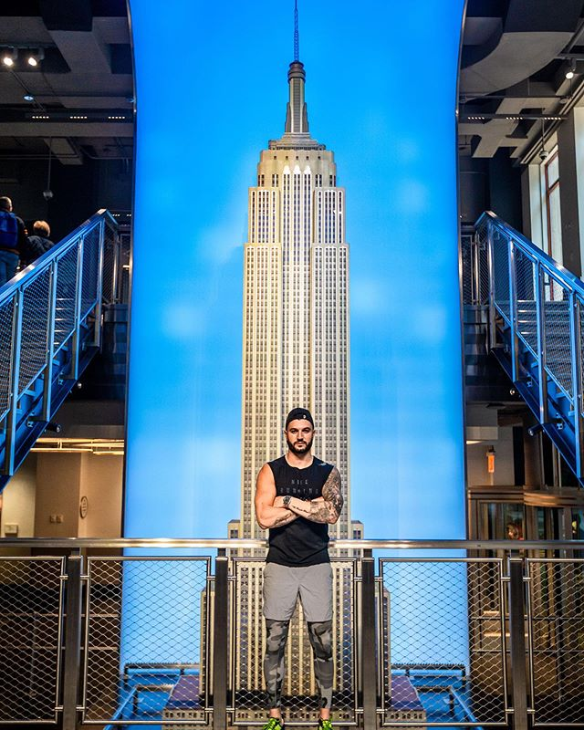 How long do you think it will take me to get to the top of the @empirestatebldg on Tuesday? #mazza #bmazzfit #hplt #race #motivation #fitnessmotivation #fit