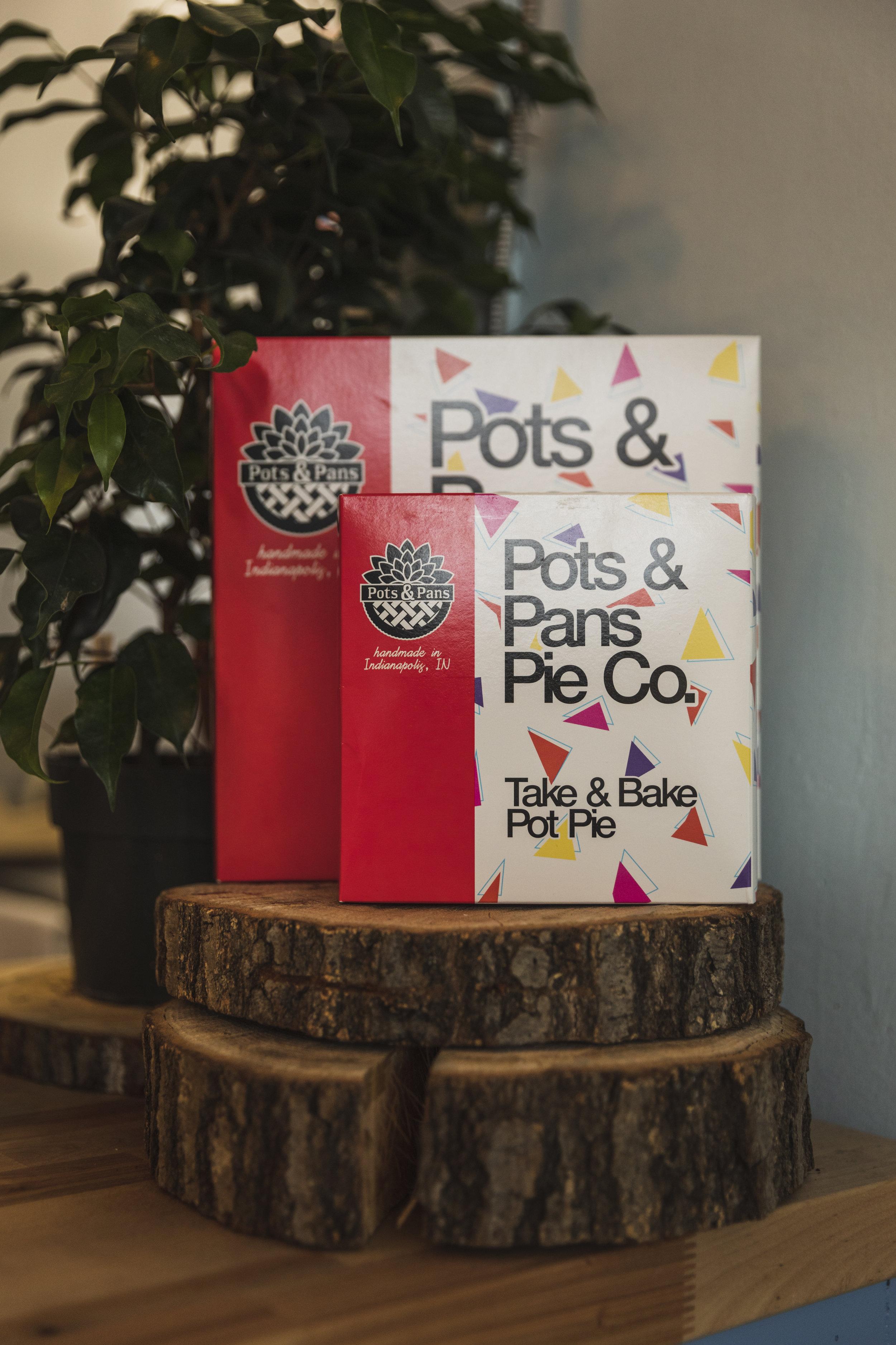 Take & Bake Pot Pies