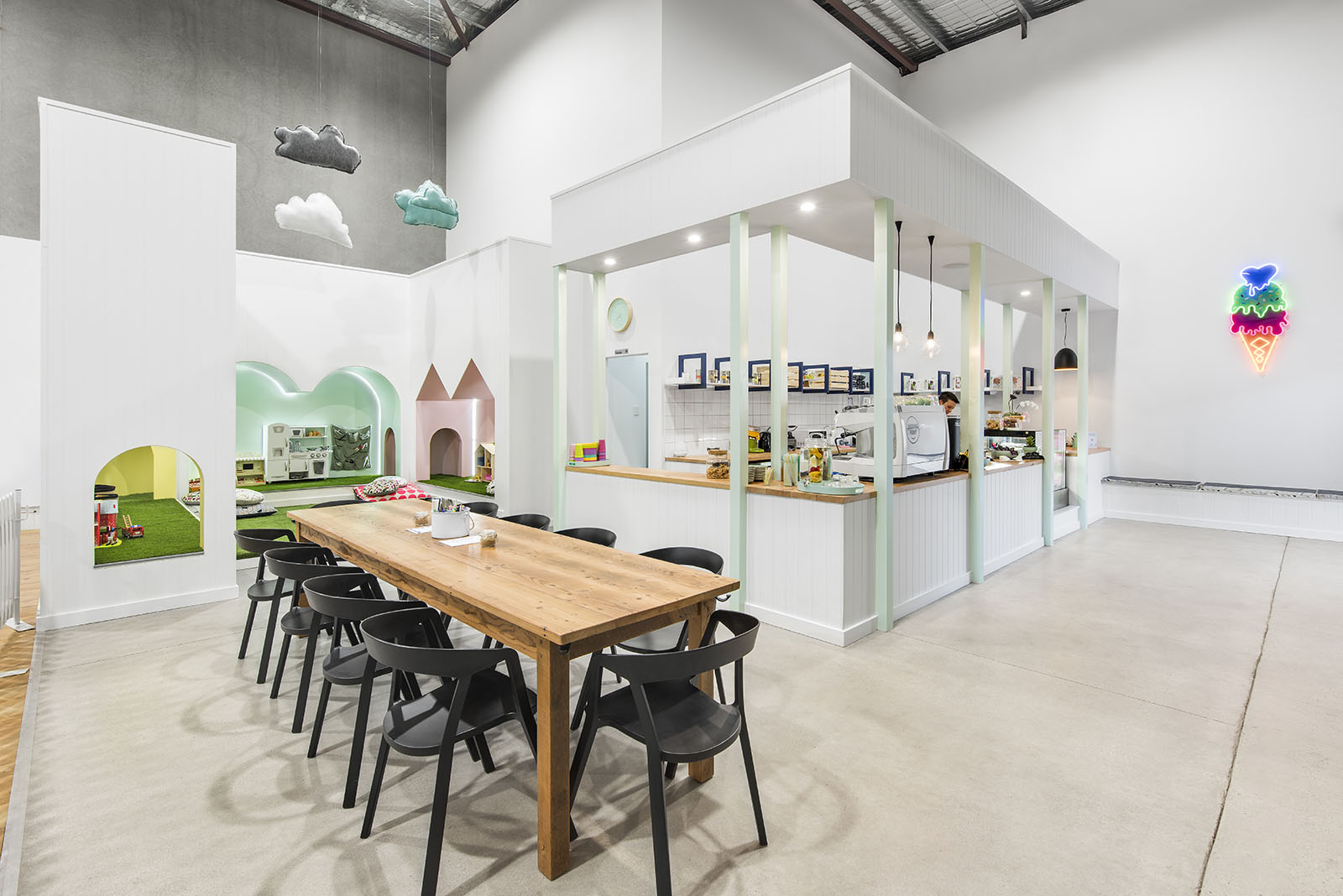 Coffee Hub - Kid & Hub is Adelaide's haven for families - drop into our coffee and play hub anytime.Parents can enjoy a coffee and gourmet food in the coffee hub while their children explore the play hub.
