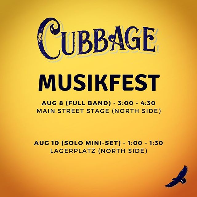 Can't wait to share the original tunes that we really care about out onto the Main Street Bethlehem stage tomorrow at 3:00. Really a blessing to play here, thanks @musikfest and #artsquest for putting this awesome festival on every year.
