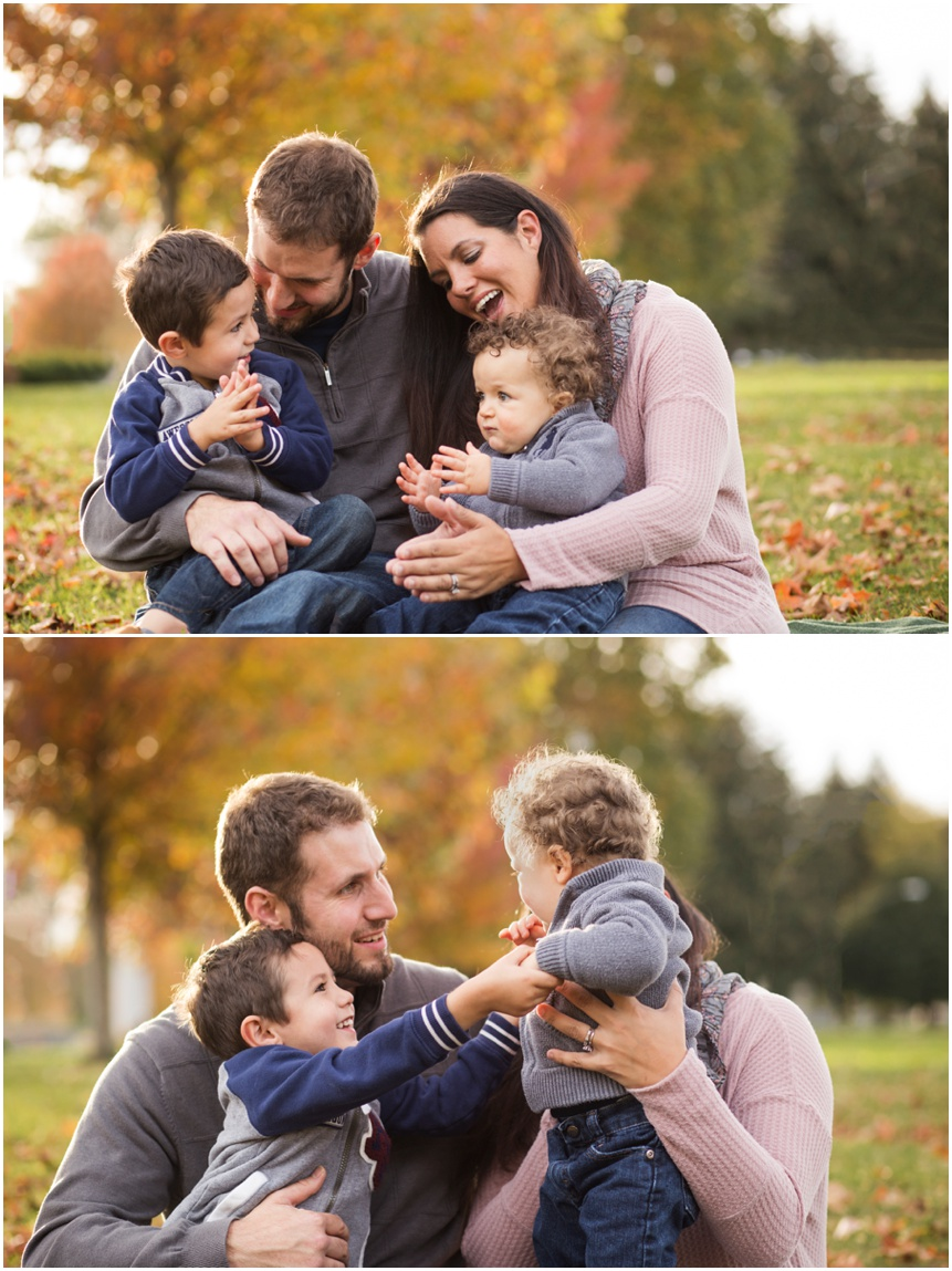 Beautiful family together Rochester NY family photography