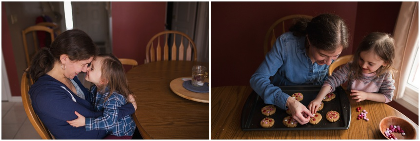 Family Photographer Rochester NY Baking cookies