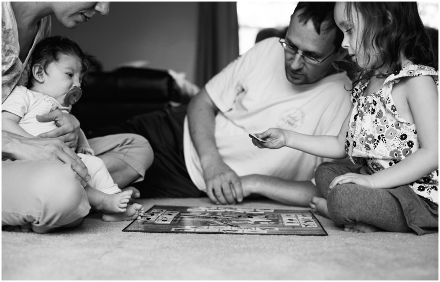 Lifestyle Family Photographer Rochester NY Family playing