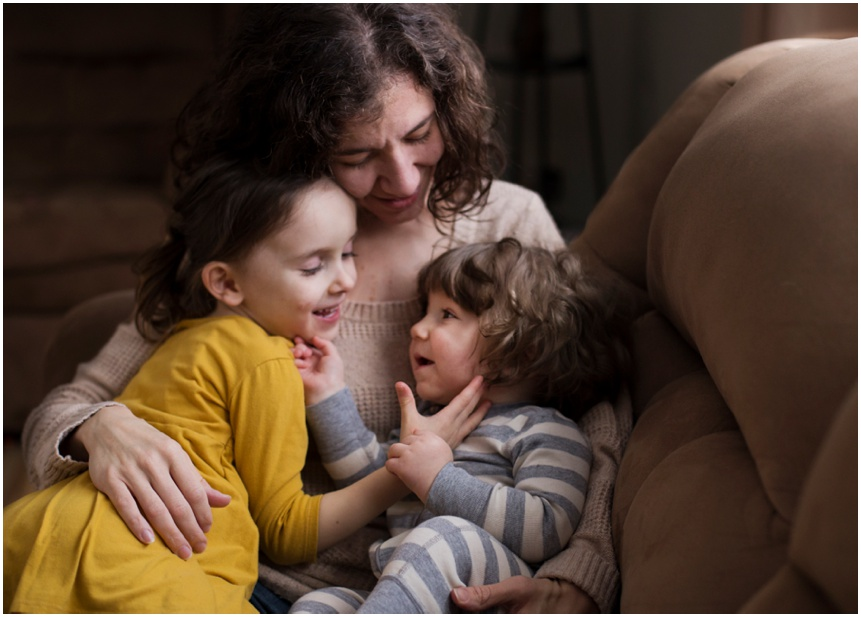 Family Photographer Rochester NY Mama and little loves