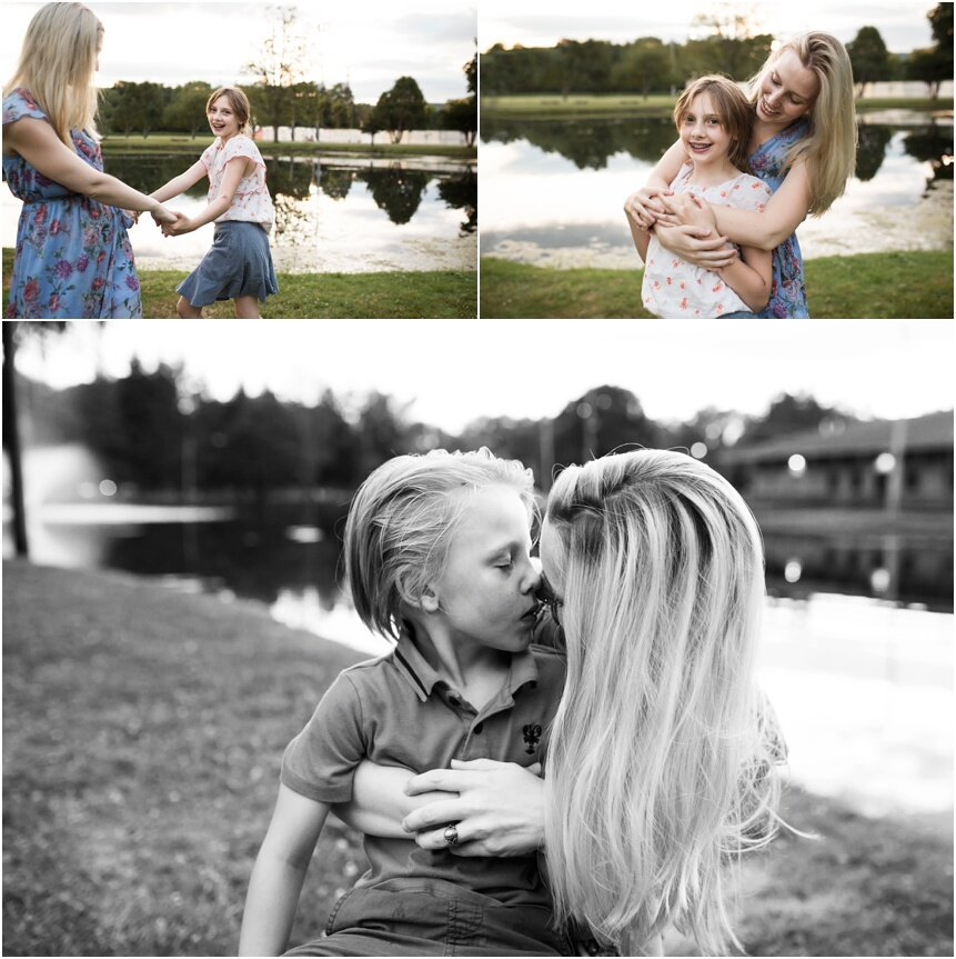 Oneonta Family Photographer, Mom and her children