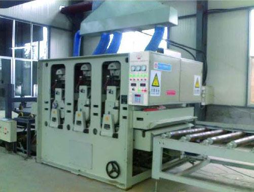 Calibrating Sanding Machine