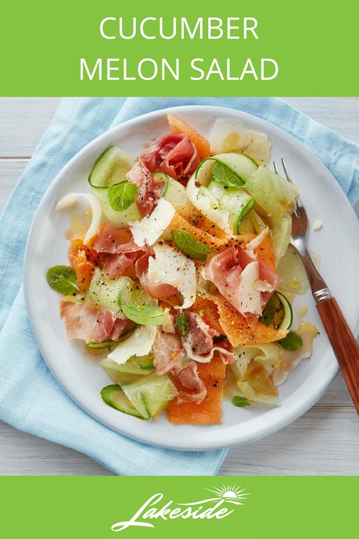 Cucumber Melon Salad - Lakeside - Cucumber Recipes