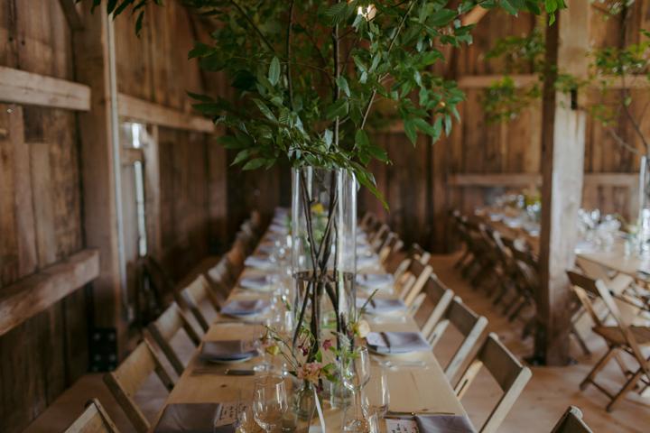 modern-rustic-wedding-catskills-venue-venues-farm-table-1
