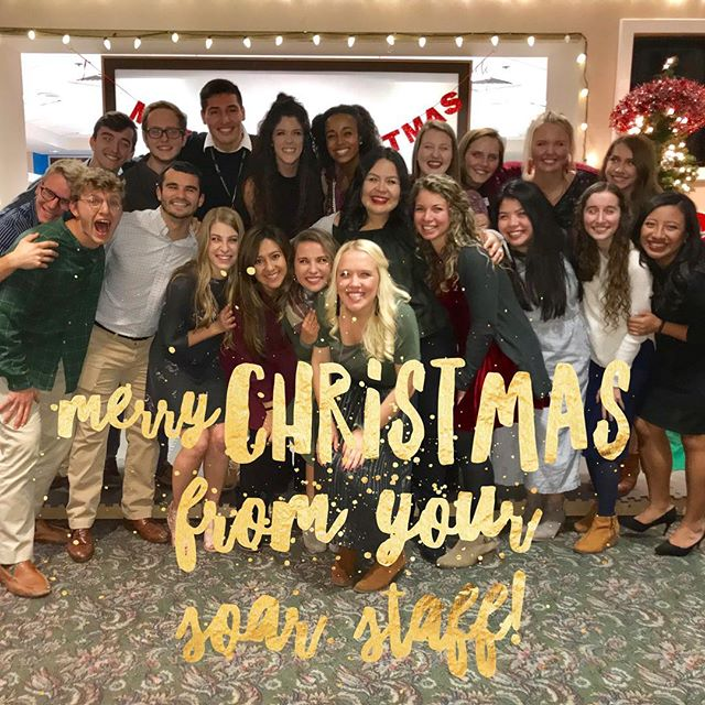 Merry Christmas from your SOAR staff!! We hope that you and your family are enjoying each other's company and reflecting on the true meaning of Christmas! WE ❤️ OUR SOAR FAMILY!! #soarfamily #afterschoolworks #soarstaff