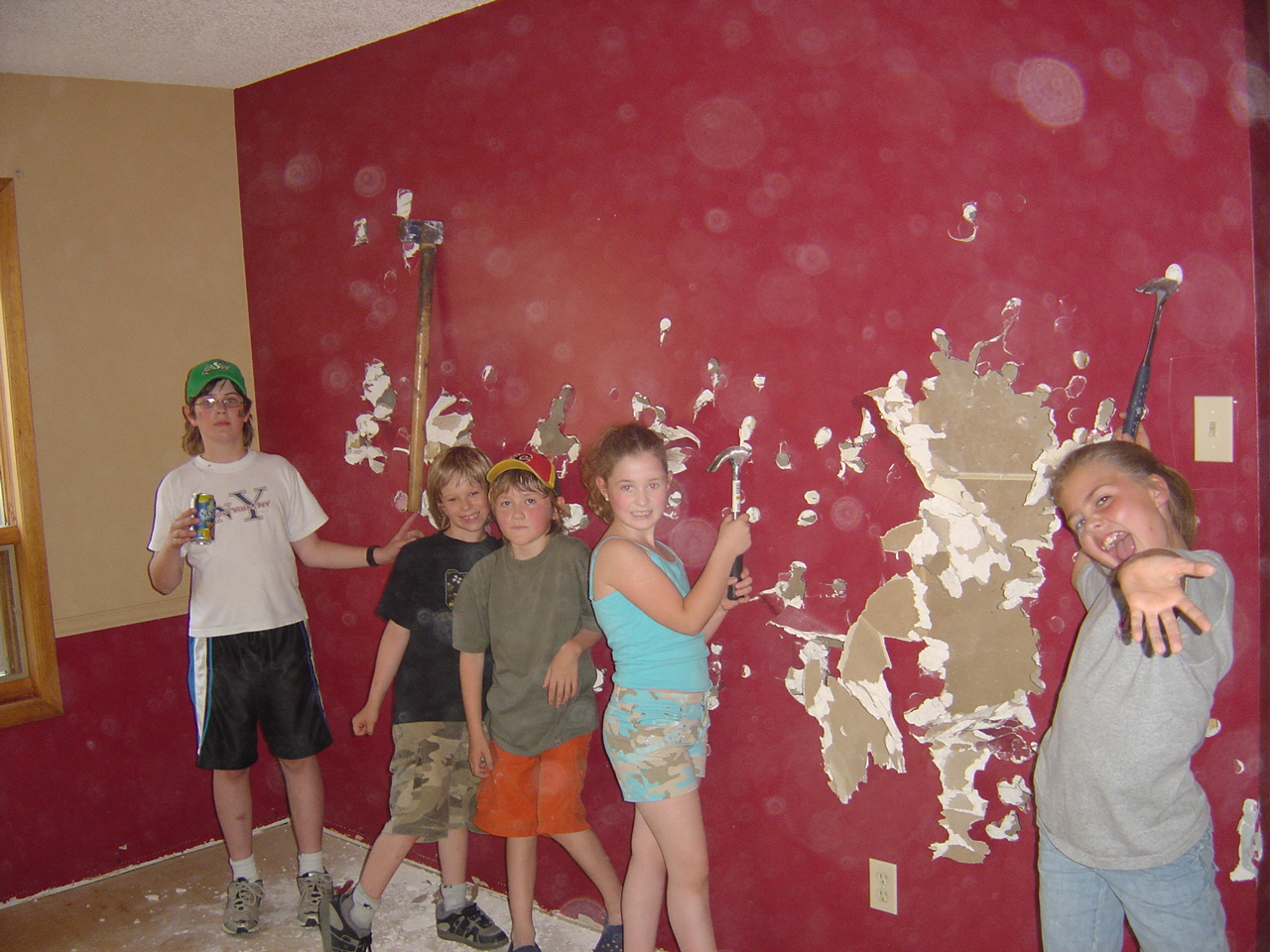 Even the kids got in on the excitement! (circa 2006)