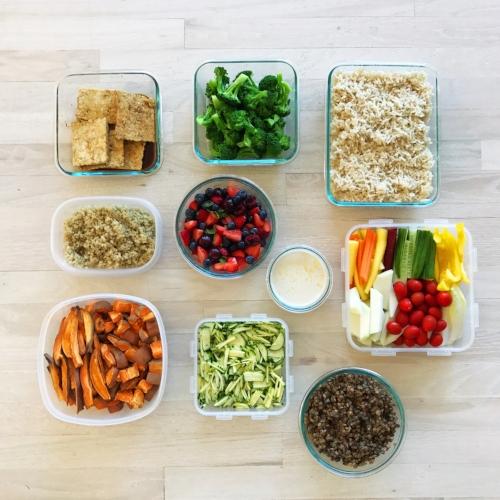 food prep, meal prep, basking in goodness, whatveganseat, plantpoweredlifestyle