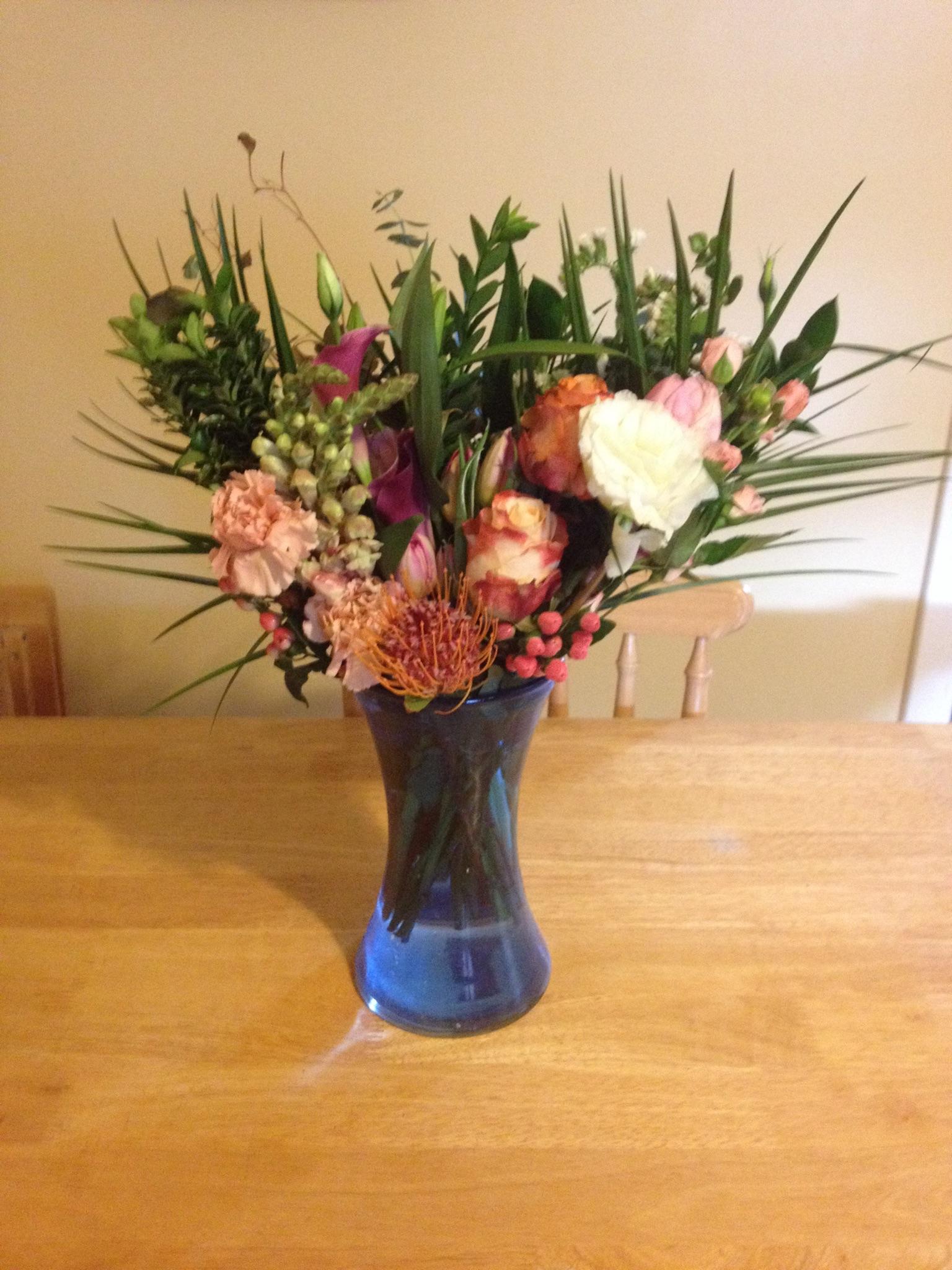 Mom's bouquet. (Photo: M. Burns)