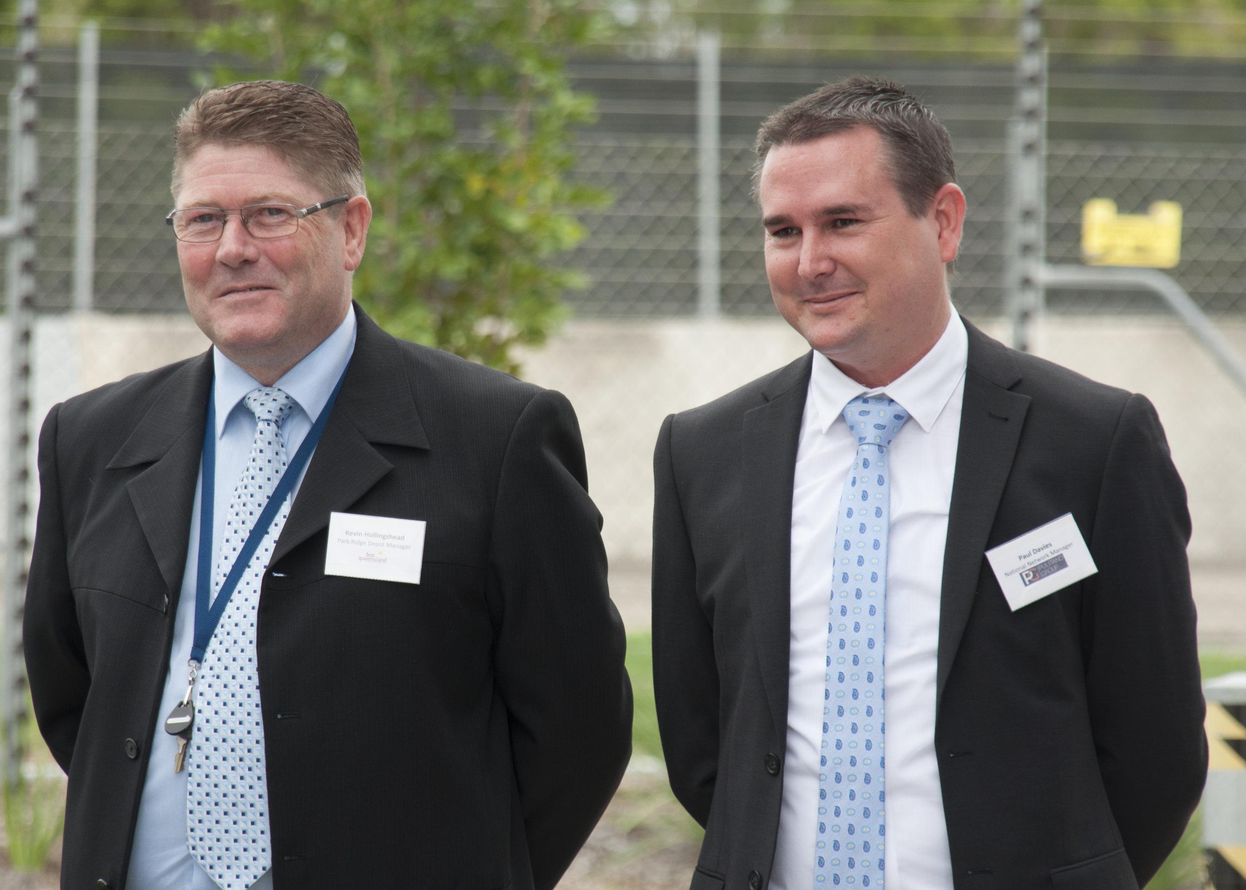 Kevin Hollingshead, Paul Davies.jpg
