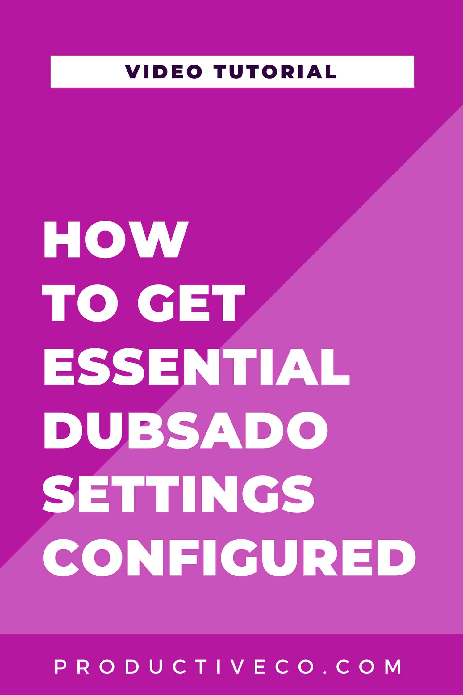 How to Set Up Your Brand Settings Tab in Dubsado Video. This is for basic account setup with client portal colors, payment gateways, email and calendar hookups, etc.