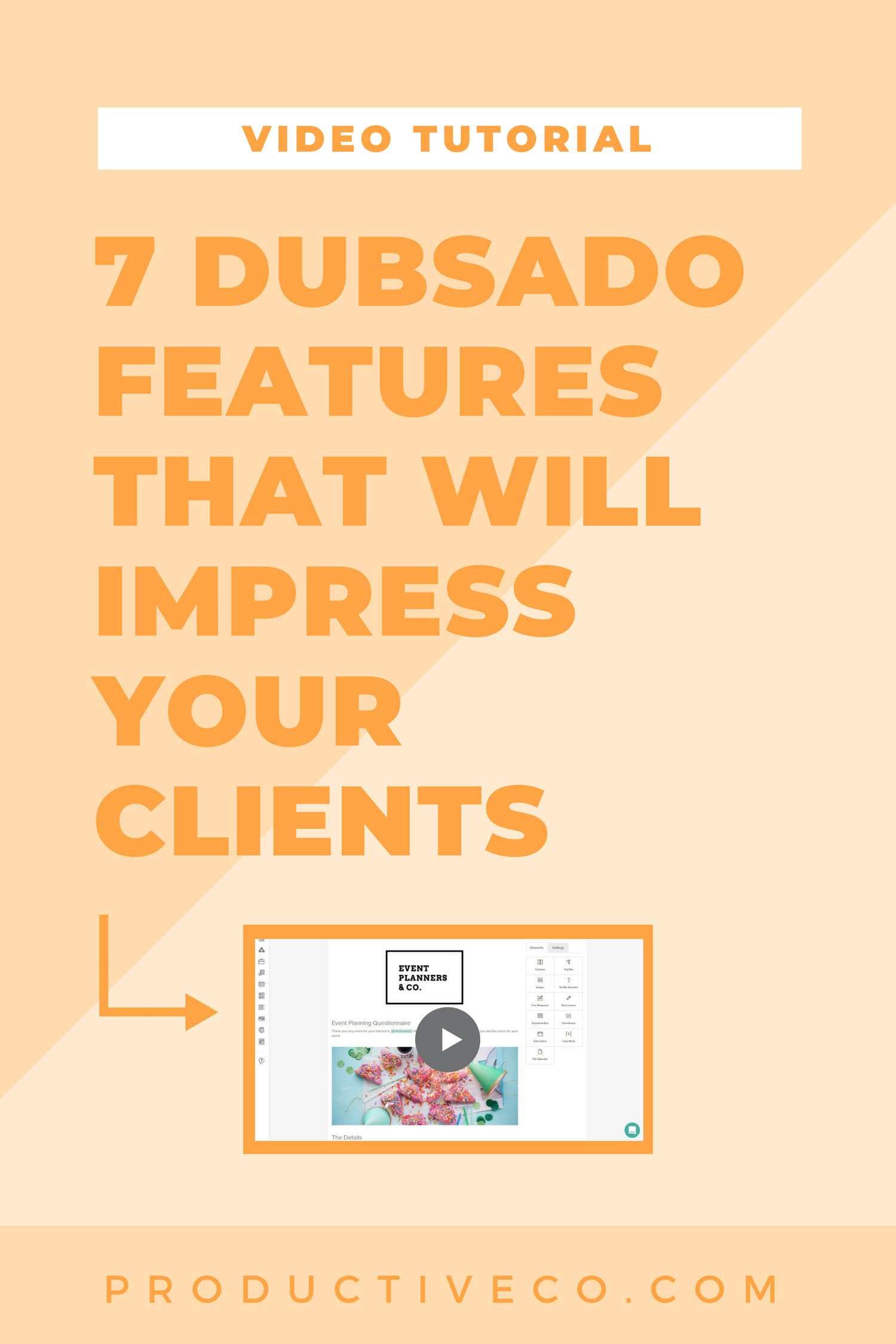 Impress your clients with these 7 Dubsado features: client portals, banners, contract signing, automatic payments, and more.