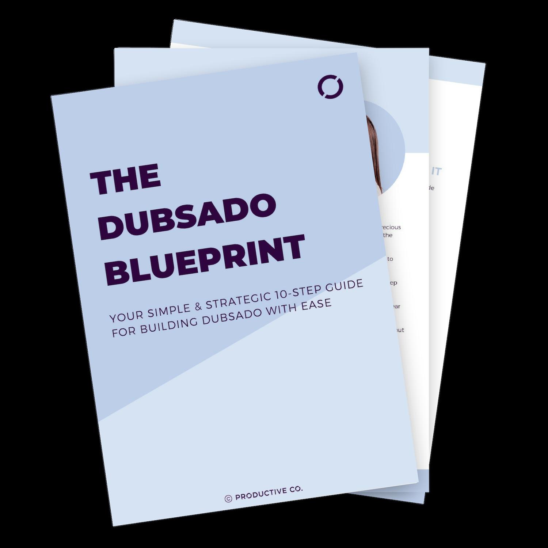 Dubsado Blueprint for step-by-step Dubsado setup.