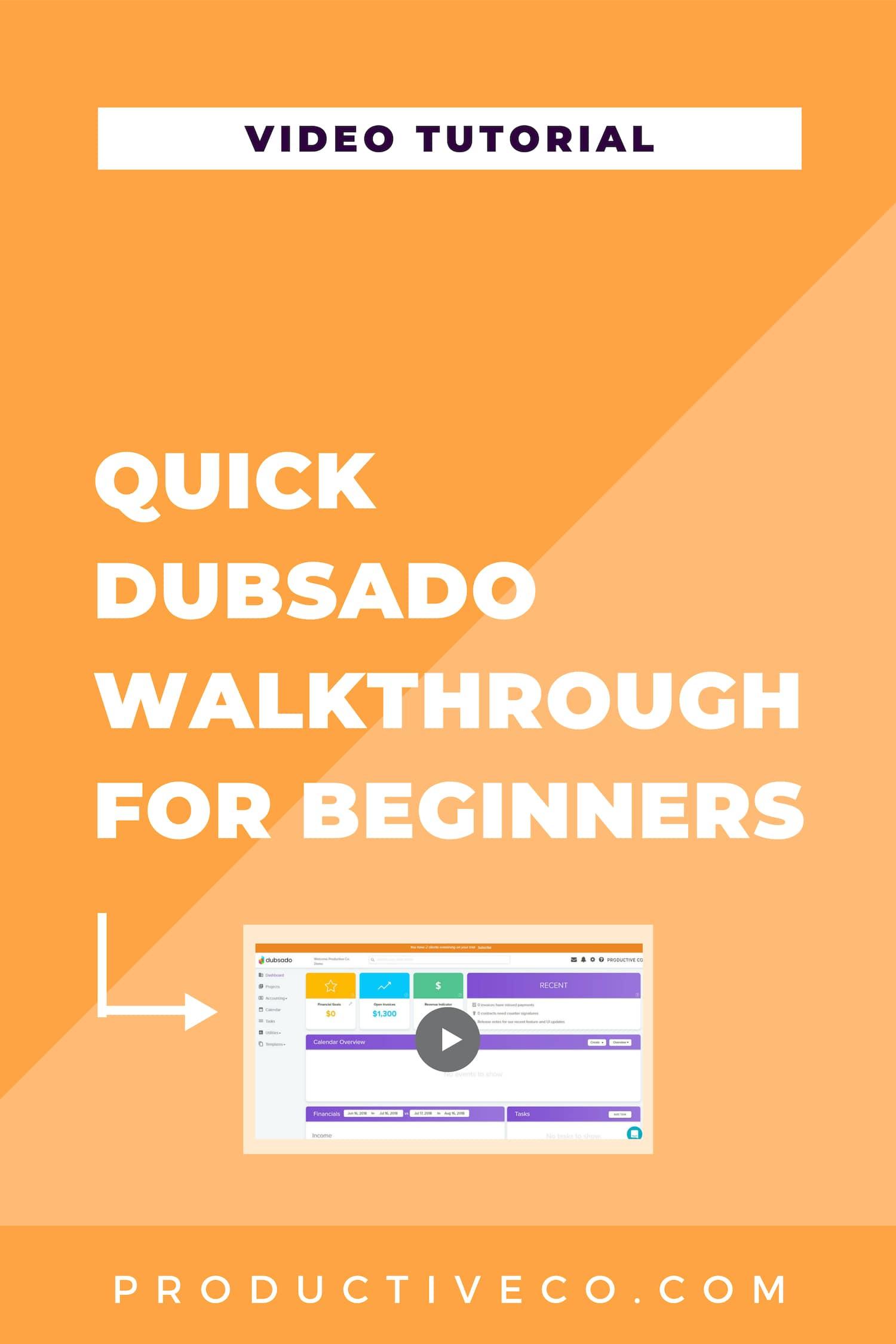 Quick Dubsado overview