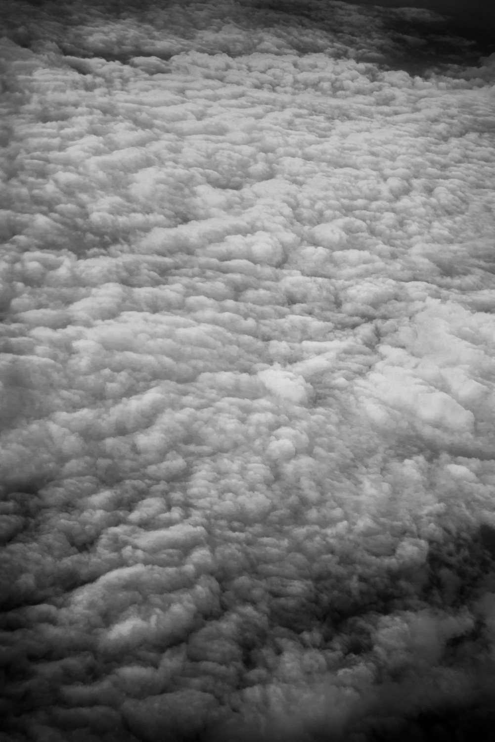 Cloud field from Delta Airlines, © Robert Welkie 2016