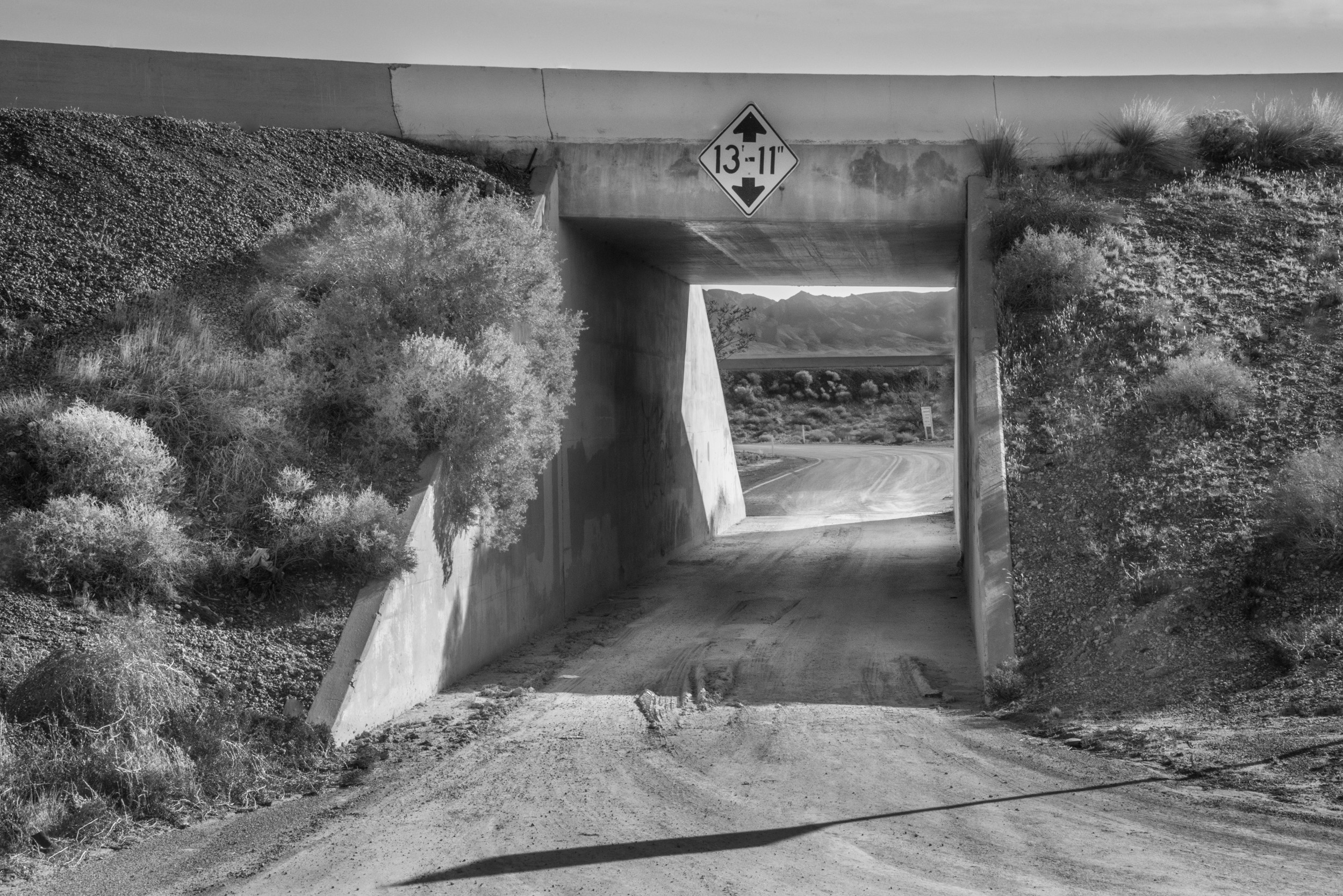 Underpass, 15 Freeway, California © Robert Welkie 2017