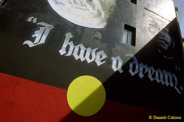 Red, Black and Yellow are the colours of the Aboriginal flag