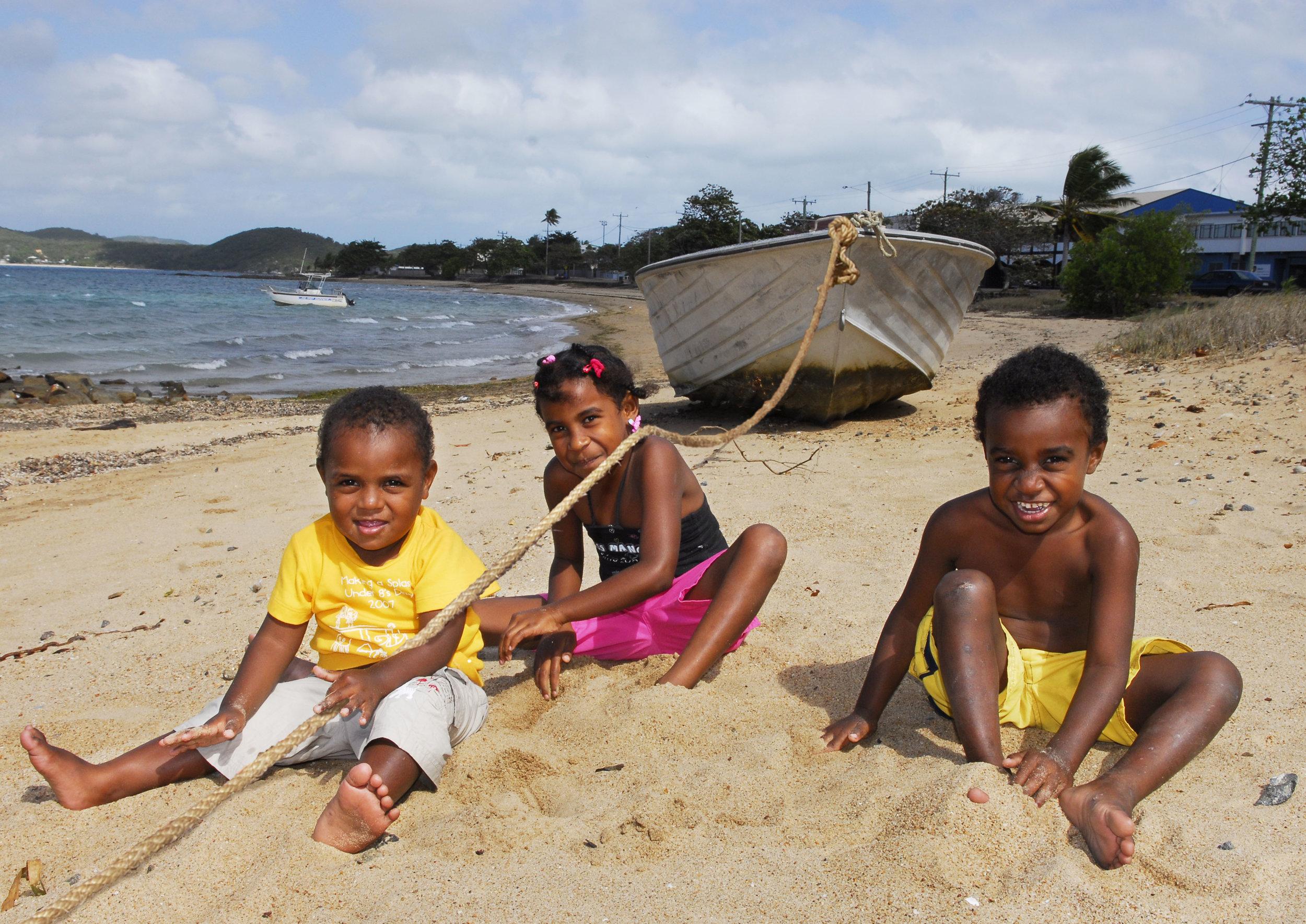 Torres Strait Islander kids singing the song 1,2,3,4,5 Islander culture