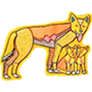 0016_Wendy Website_Show Tell Section_Aboriginal art icon Dingo Family.png