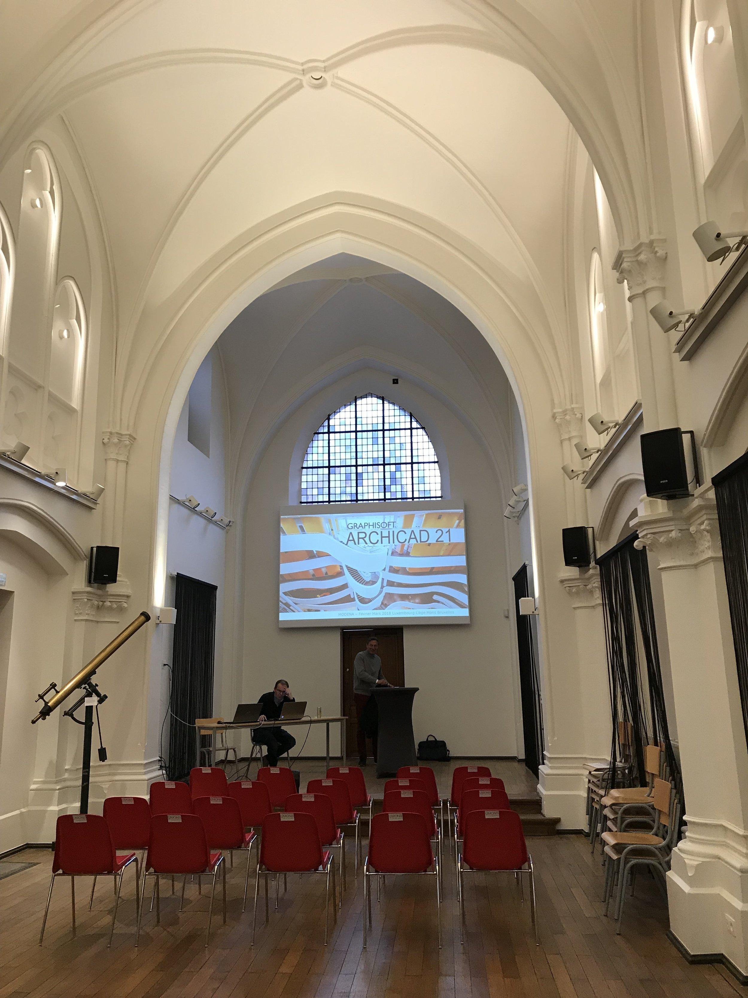 Séminaire à l'Université de Mons MODENA 01.03.18