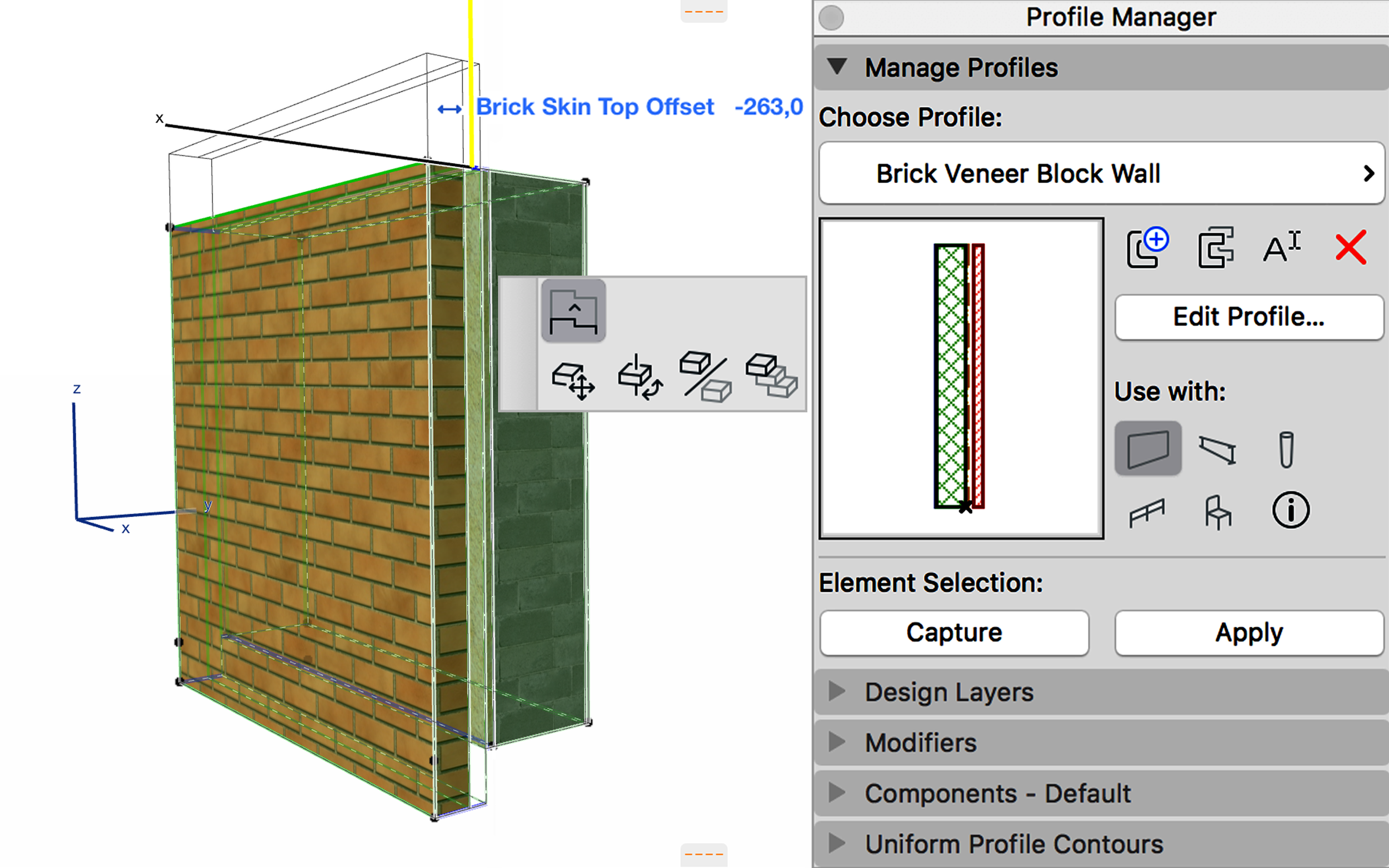 AC22-Parametric_Profiles_Profiles_Wall with Brick Skin Offset1.png