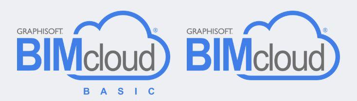 Bimcloud et Bimcloud basic.JPG