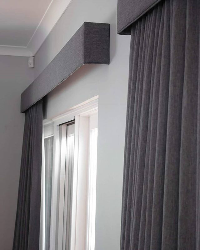 Simple additions with Big Impact.  #curtains #decor #interiordesign #interior #living #betterhomes #pelmets #sheer #warwickfabrics