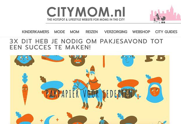 YES! 👑 Volgens @citymomnl heb je Pieterbaas nodig om Pakjesavond tot een succes te maken! 😍💛