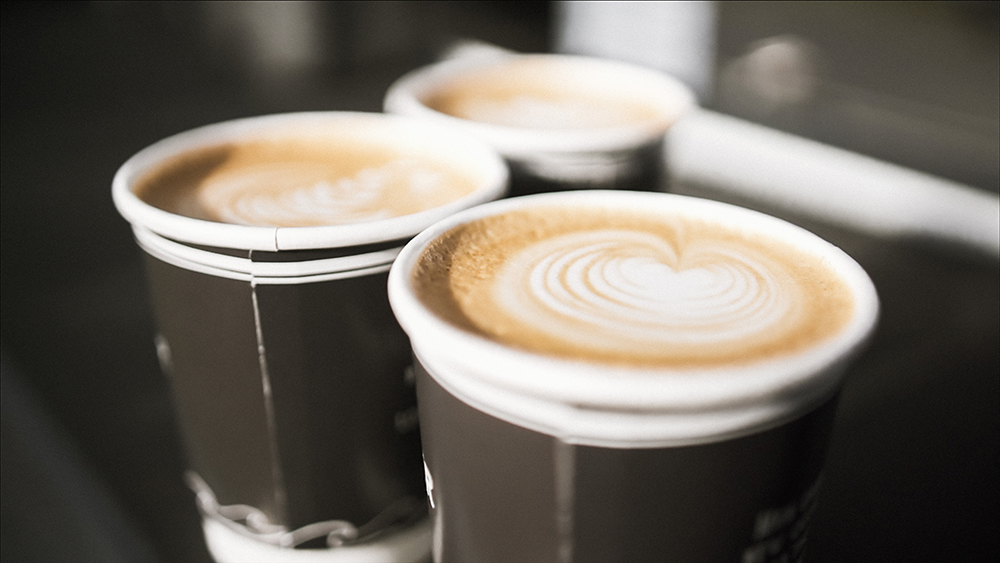 Freshly made Drover Coffee
