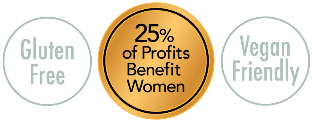 Sarah Christina Chardonnay Gluten Free Vegan Friendly 25 percent of profits benefit women.png