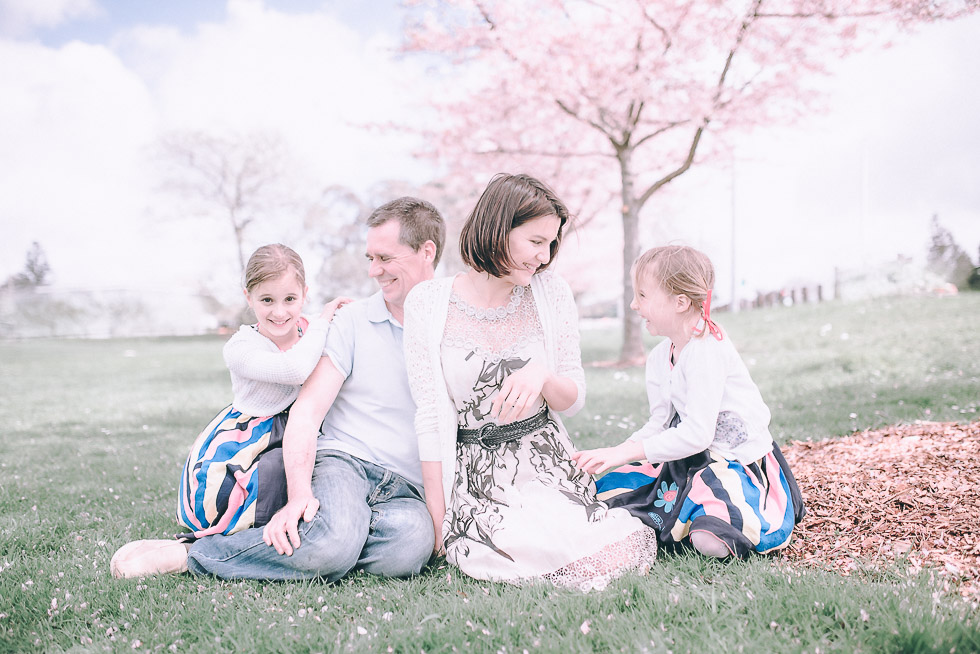 Family of four photo shoot {with 2 adorable girls} - Hamilton NZ lifestyle kids-baby photographer