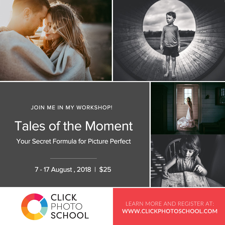 Tales of the Moment: Your Secret Formula for Picture Perfect  {Online Course | Photography Workshop | Education for photographers} by Olga Levien
