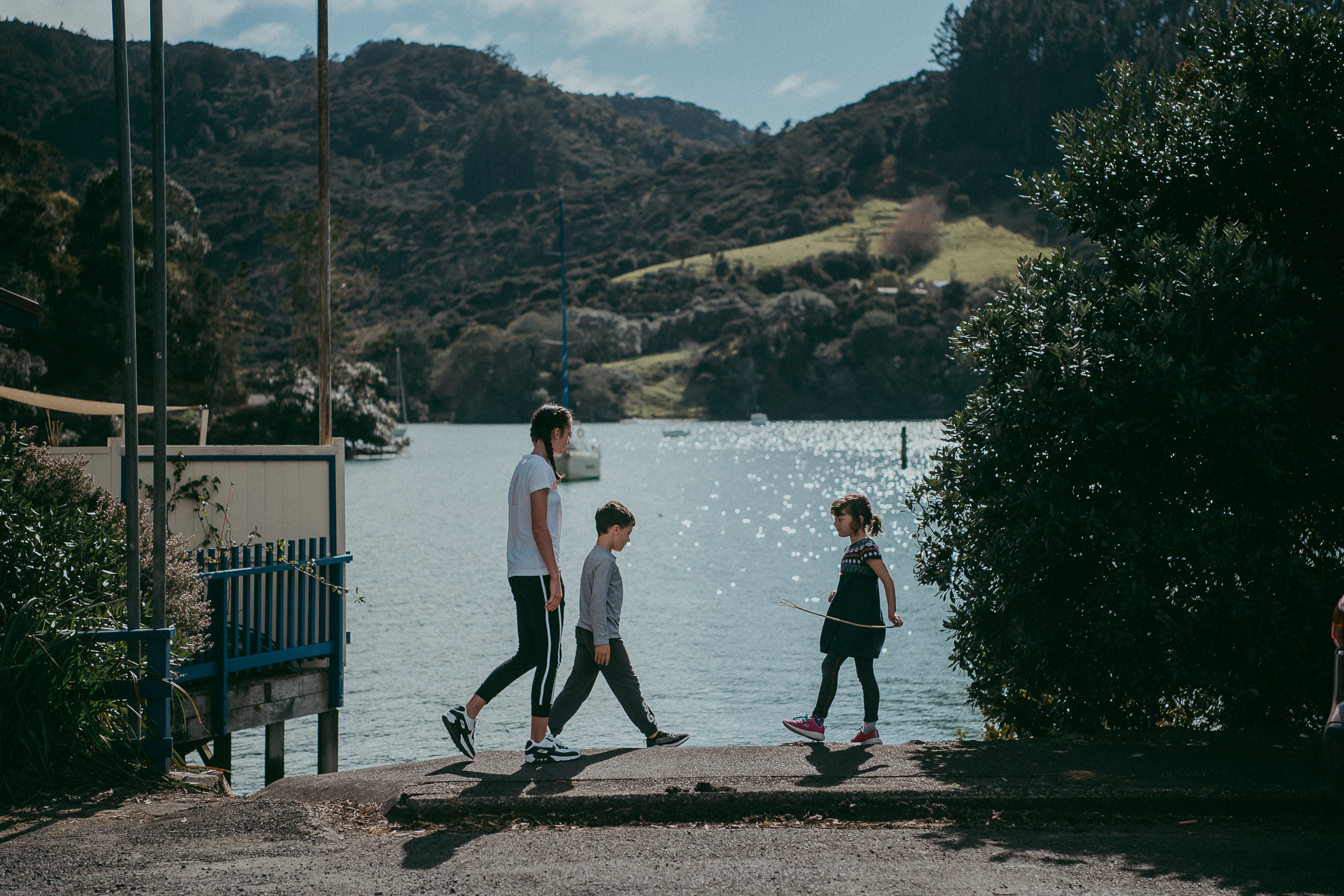 Northland family holidays {Auckland lifestyle kids photographer} Totara North Wharf
