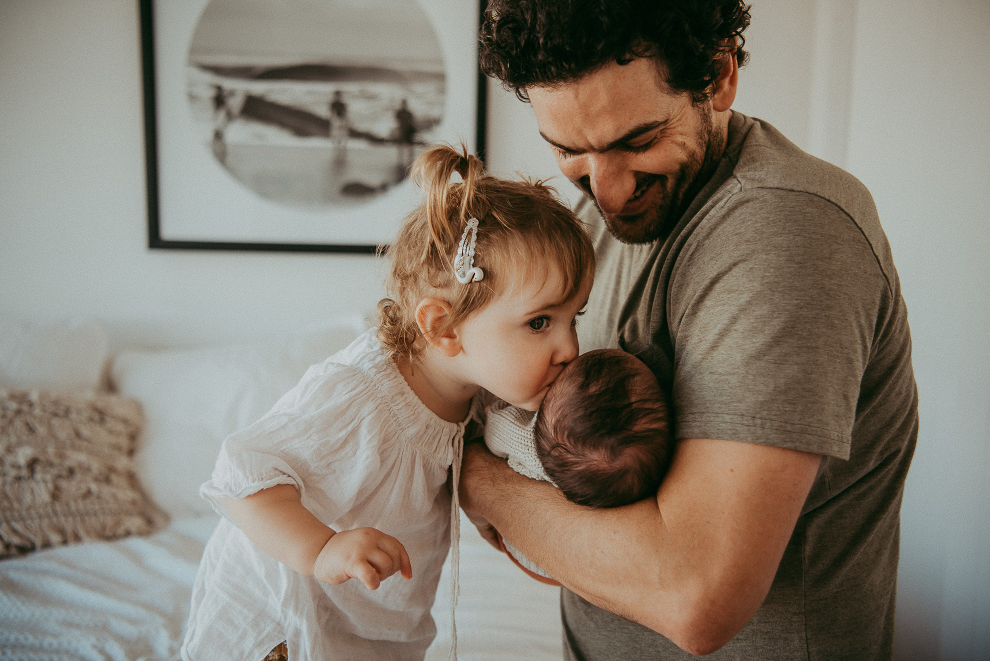 Family - Newborn Session in Auckland {North Shore lifestyle - documentary kids photographer}