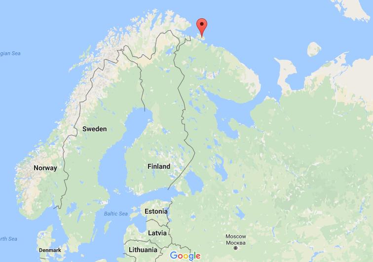 Rybachy Peninsular, Russia
