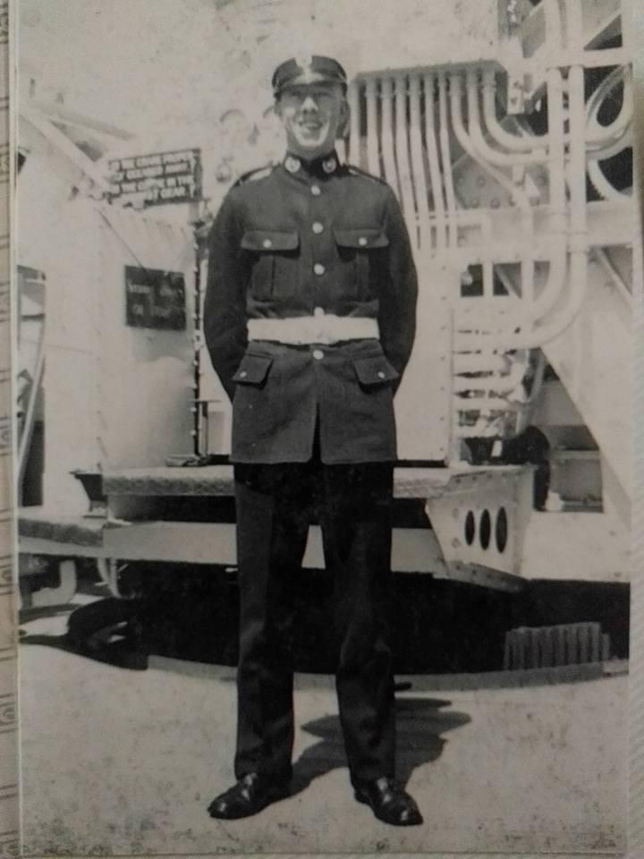 Leading Airman James Beardsley DSM