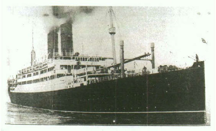 British vessel the SS Tuscania