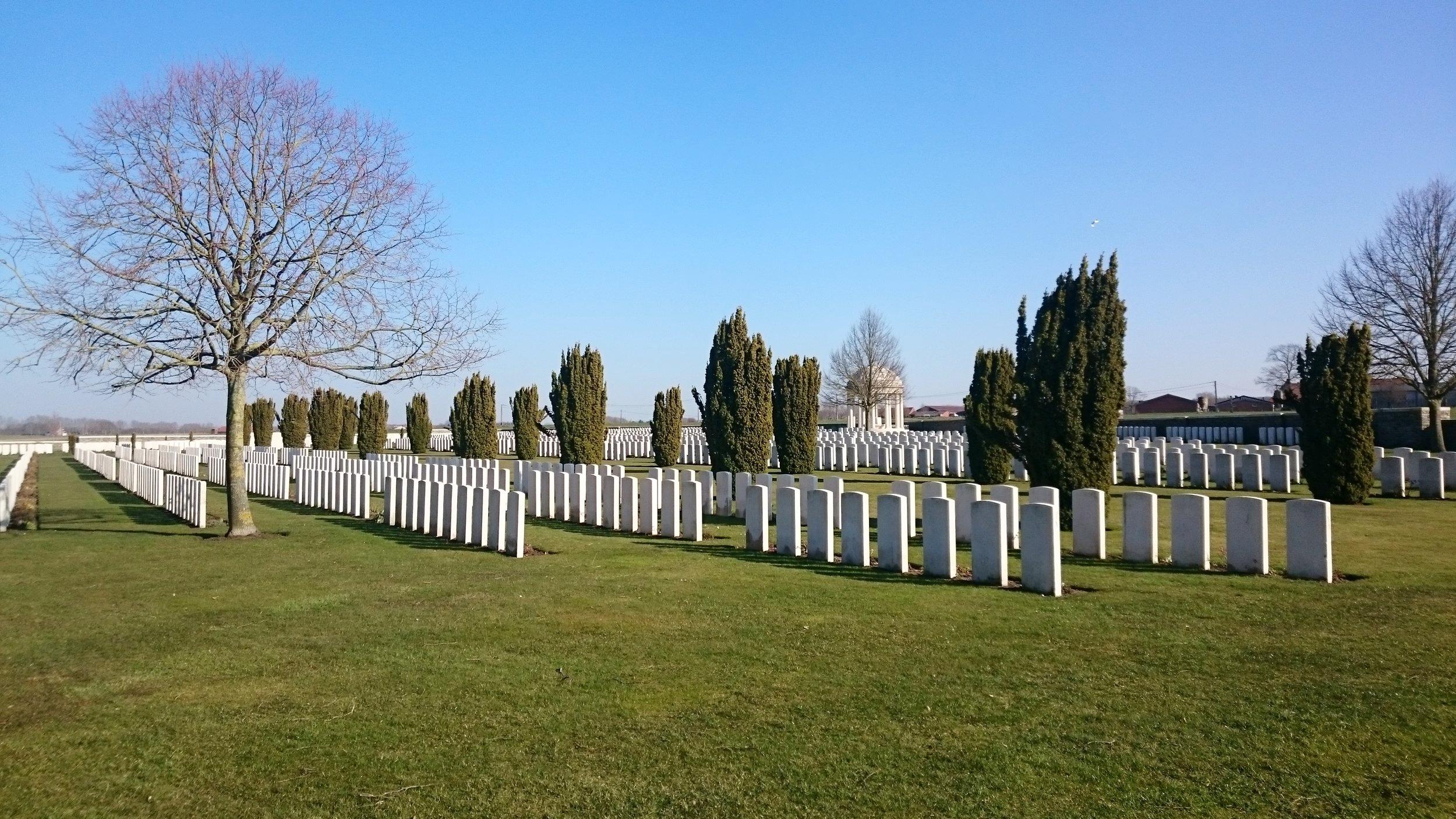 CWGC Bedford House Cemetery